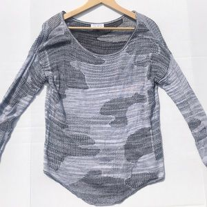 Feel the Piece Terre Jacobs Sweater Top Printed OS